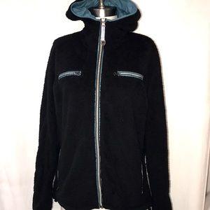Women's KUHL Fleece Jacket Size XL Full zip Hooded